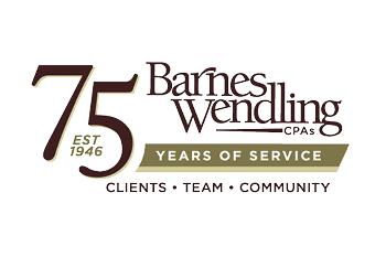 Barnes Wendling 75 Logo 350 x 233