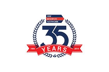 TRN 35th anniversary logo - color