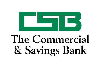 The Commercial Savings Bank Logo 350 x 233